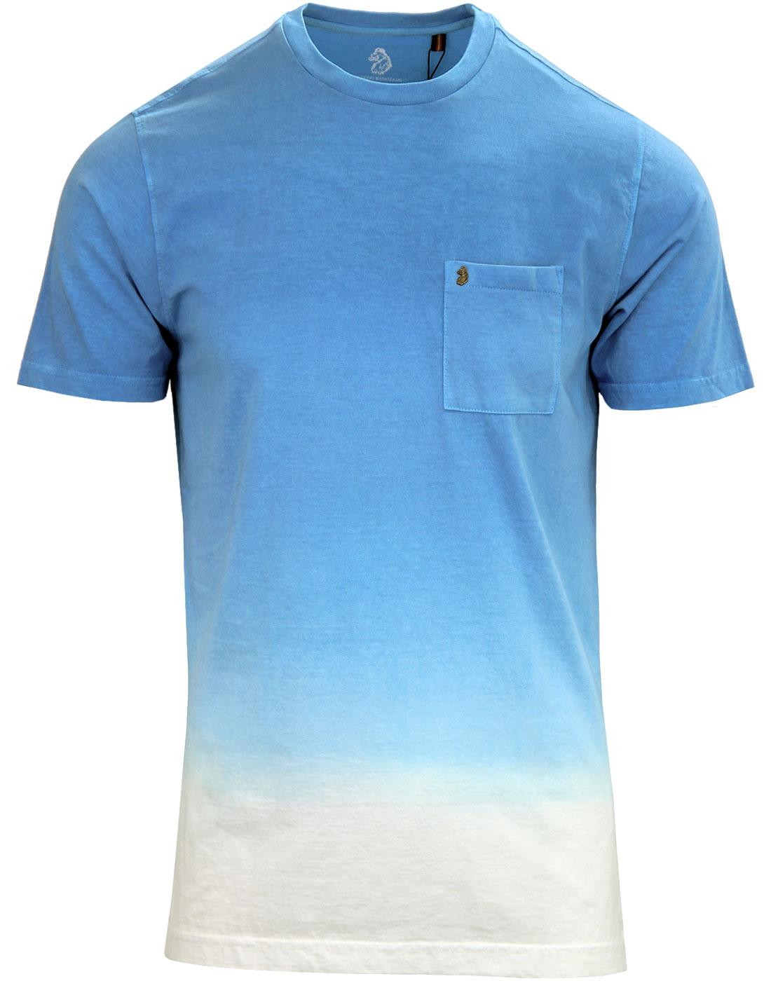 Half Soaked LUKE Men's Retro Indie Tie Dye Tee (S)