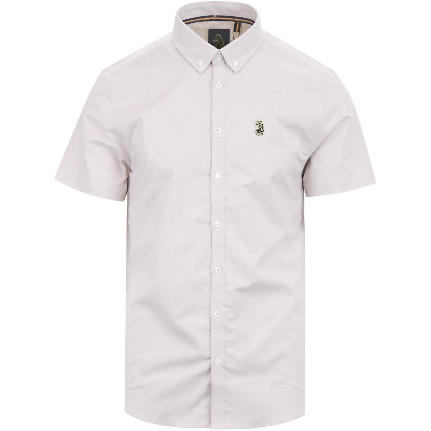 Jimmy Stretch LUKE Retro Slim Fit Oxford Shirt M