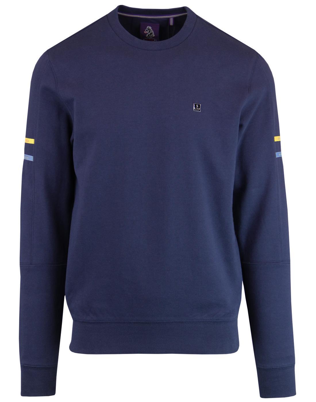 TTS LUKE Retro Technical Tailor Stripe Sweatshirt
