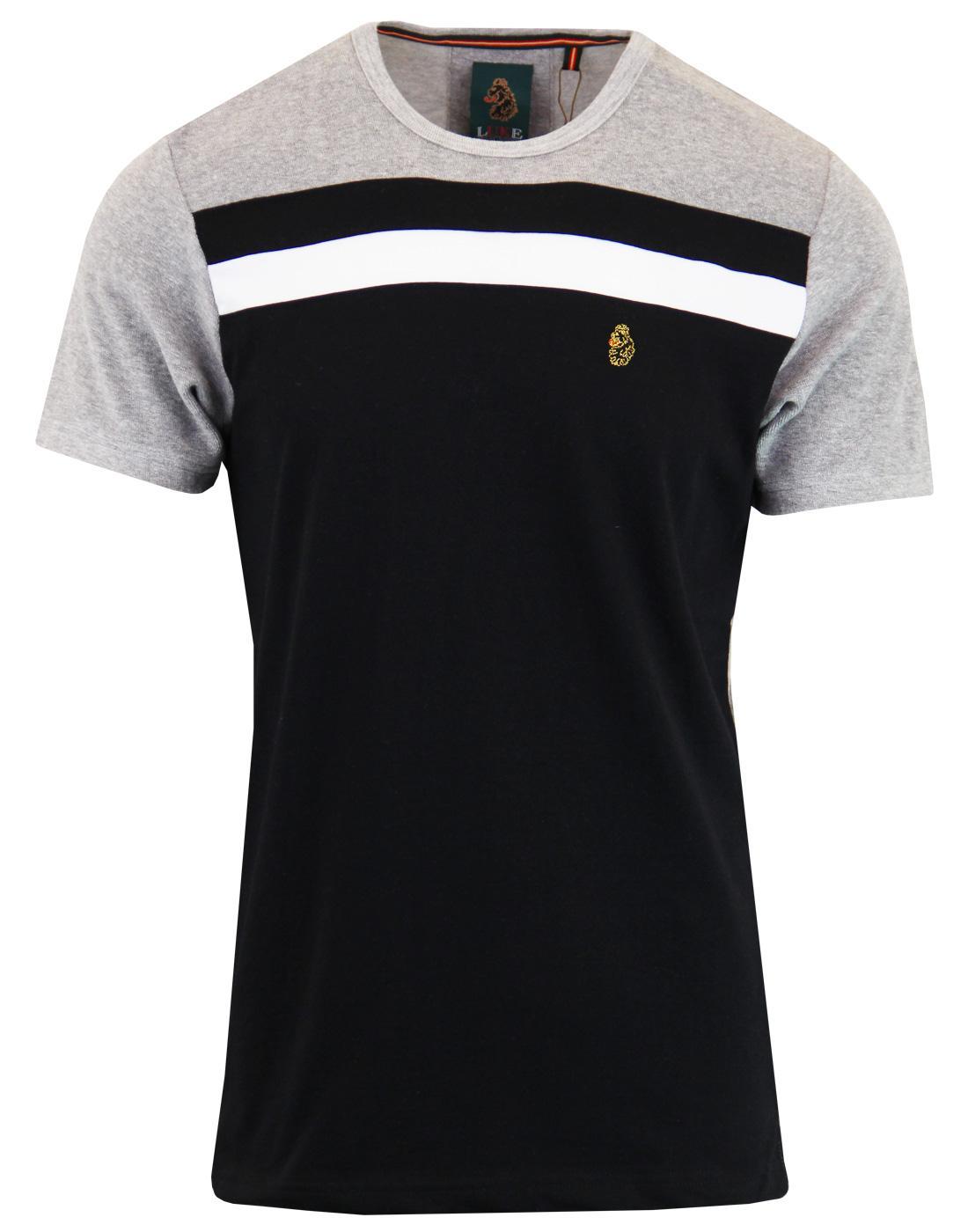 Neutral Ground LUKE Retro 70s Stripe Panel T-shirt