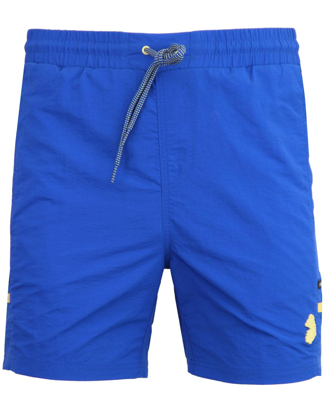 Ragy LUKE 1977 Mens Indie Summer Swim Shorts BLUE