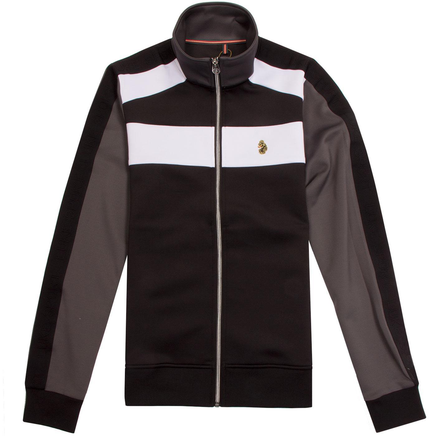 Rethorpes LUKE Retro Colour Block Track Jacket B
