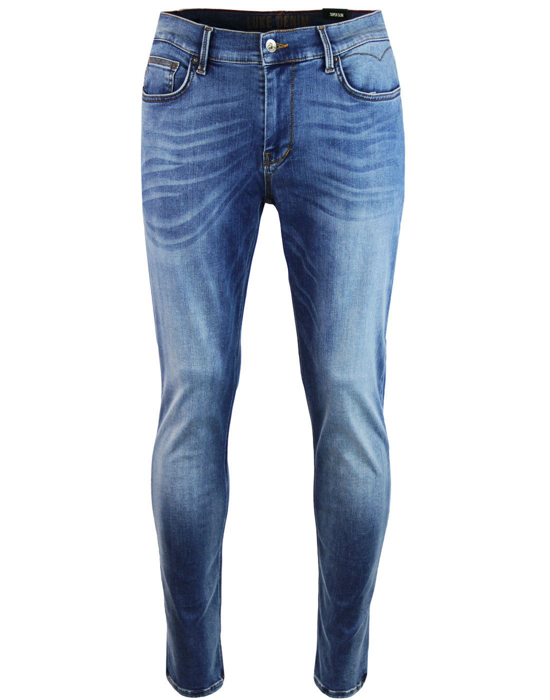 Rui LUKE 1977 Retro Skinny Fit Jeans LIGHT BLUE
