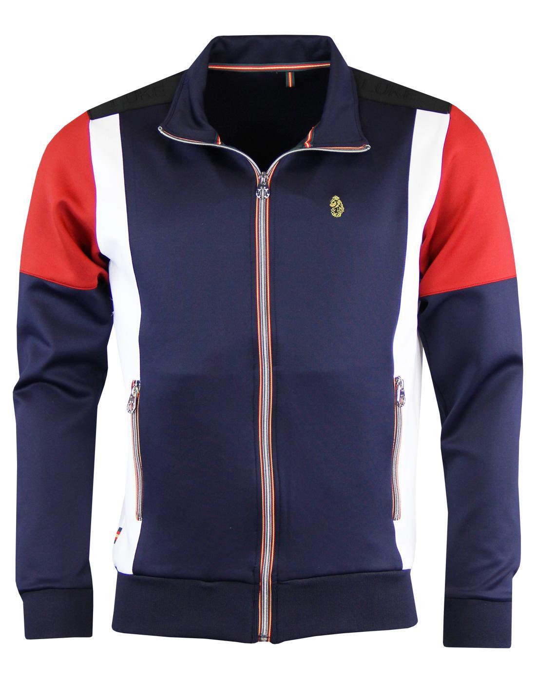 Thorpe LUKE 1977 Retro Colour Block Track Jacket