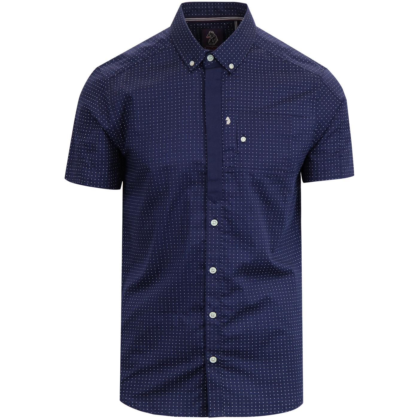 Wockneys Pencil 2 LUKE Slim Fit Polka Dot Shirt N