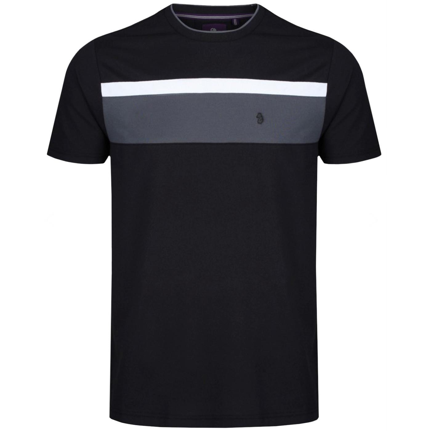Indy Nial LUKE Men's Retro Pique Cotton T-Shirt