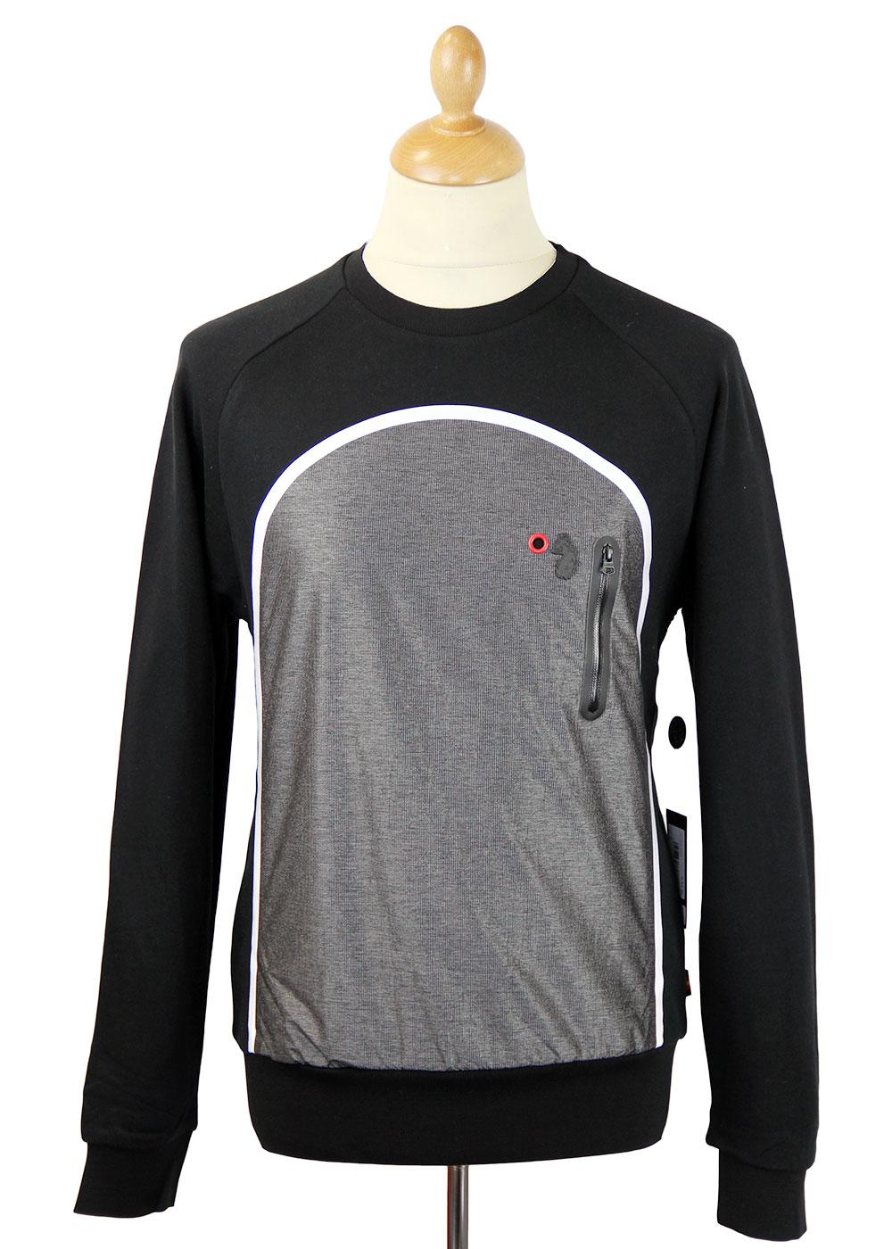 Cappy LUKE 1977 Retro Indie Technical Sweatshirt B