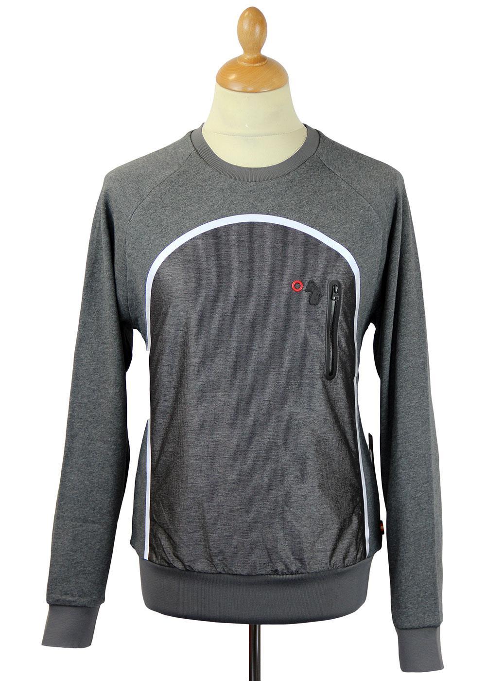 Cappy LUKE 1977 Retro Indie Technical Sweatshirt G