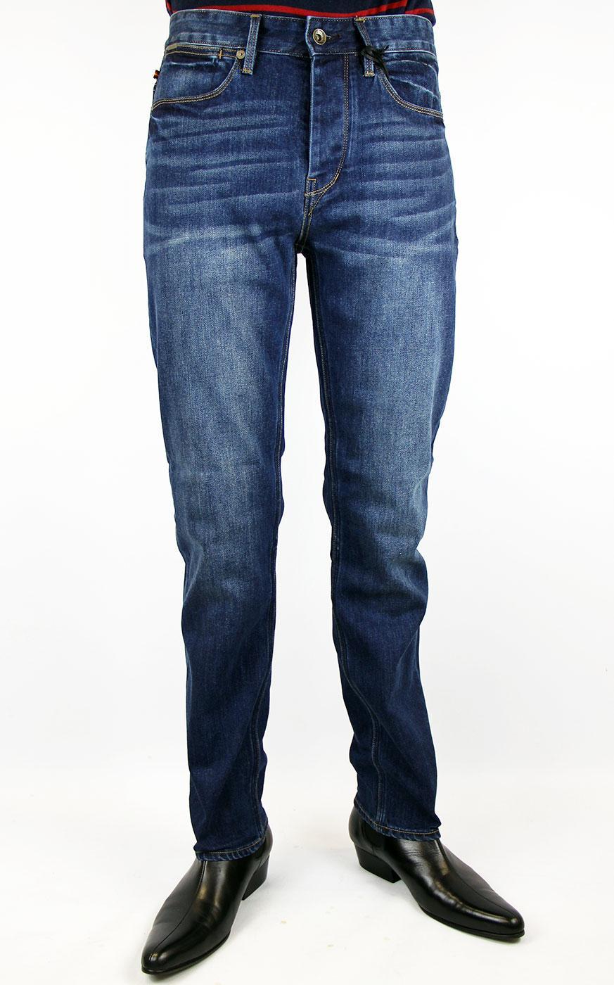 Freddie LUKE 1977 Indie Slim Straight Leg Jeans MB