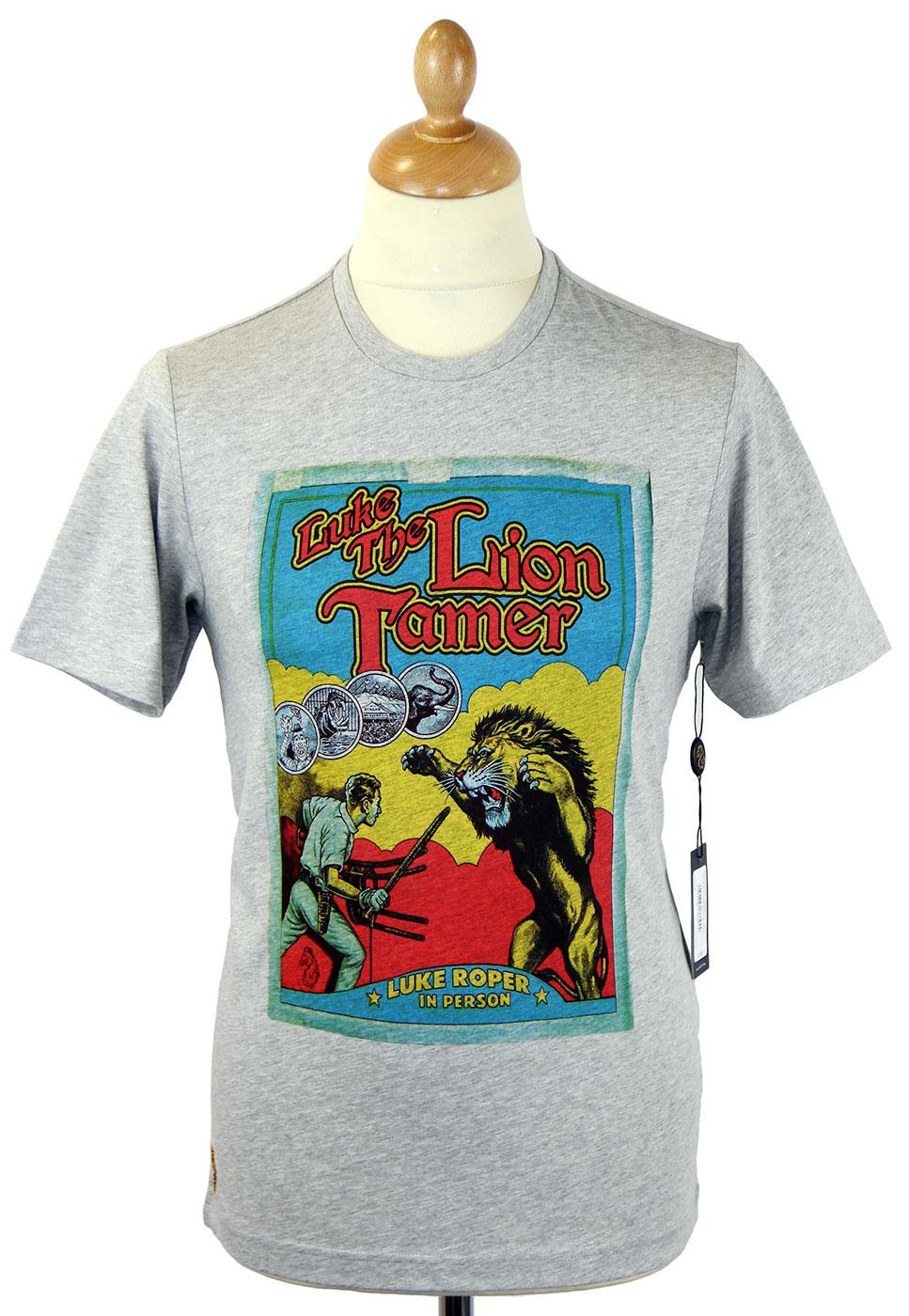 Lion Tamer 1 LUKE 1977 Vintage Poster T-Shirt