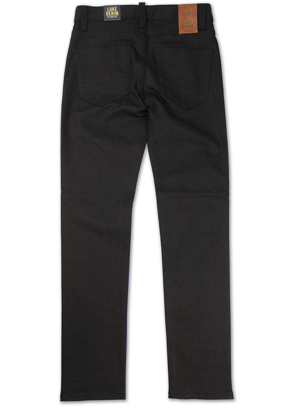 27306675b Rui LUKE 1977 Retro Indie Mod Skinny Black Jeans