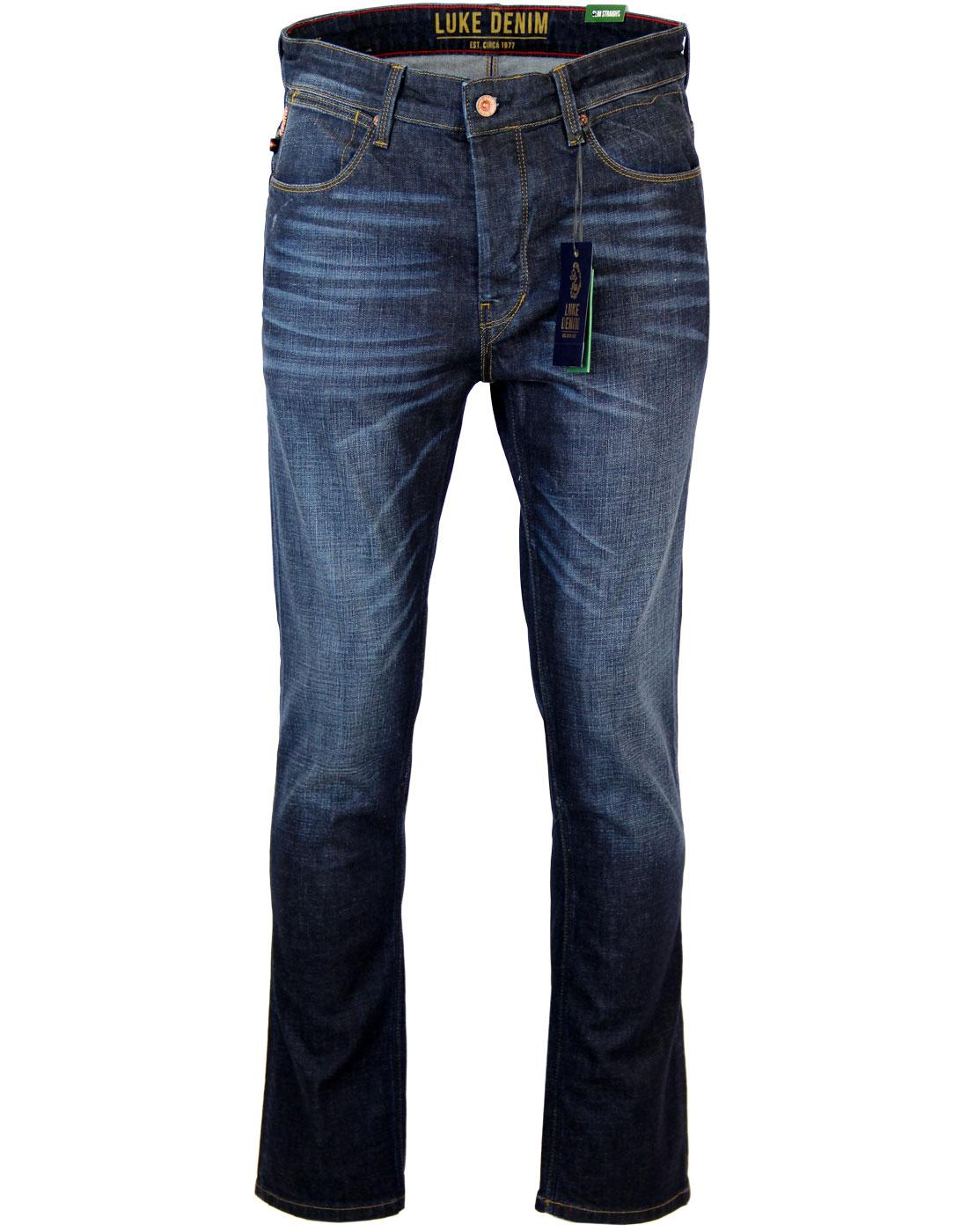 Freddie LUKE 1977 Slim Straight 5 Pocket Jeans