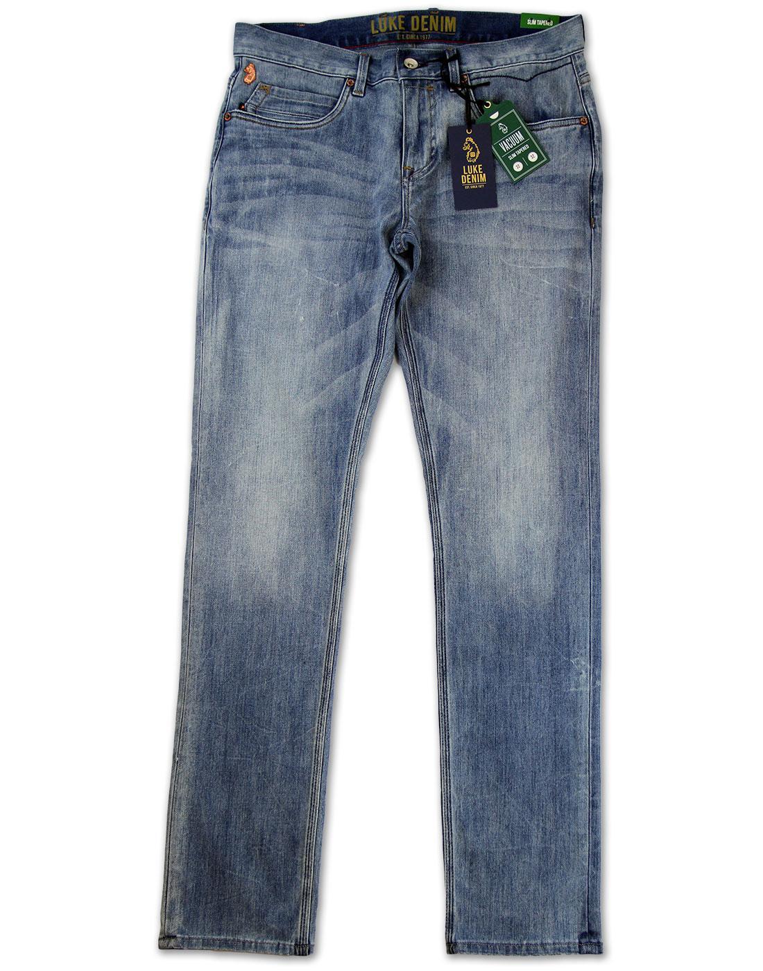 Vacuum LUKE DENIM Retro Acid House Whiskered Jeans