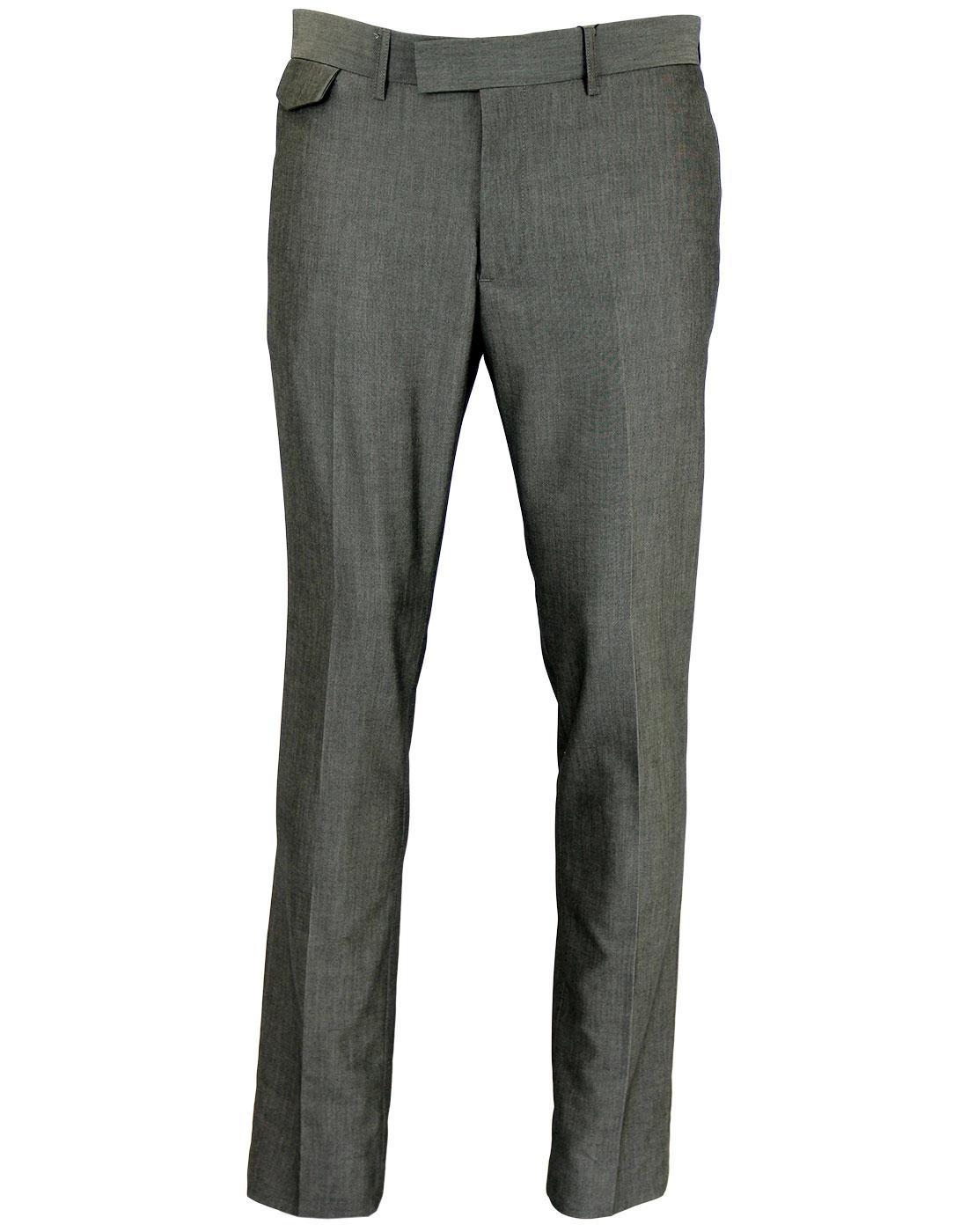 Not Guilty LUKE 1977 Mod Slim Leg Suit Trousers G