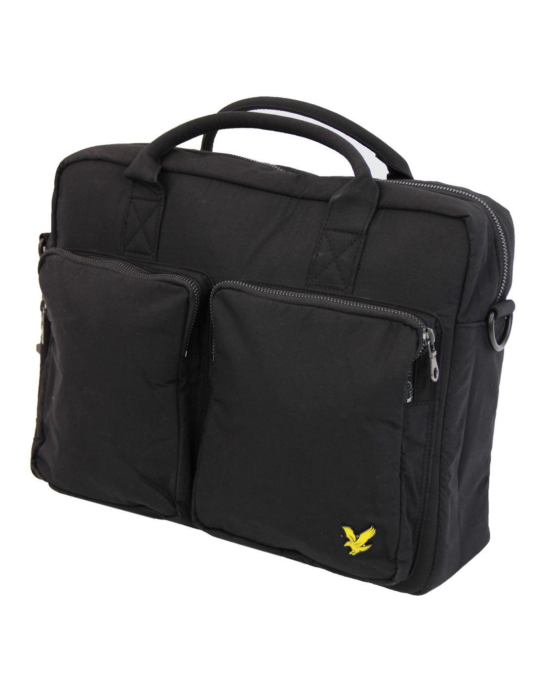 2 Pocket LYLE AND SCOTT Shoulder Bag Black