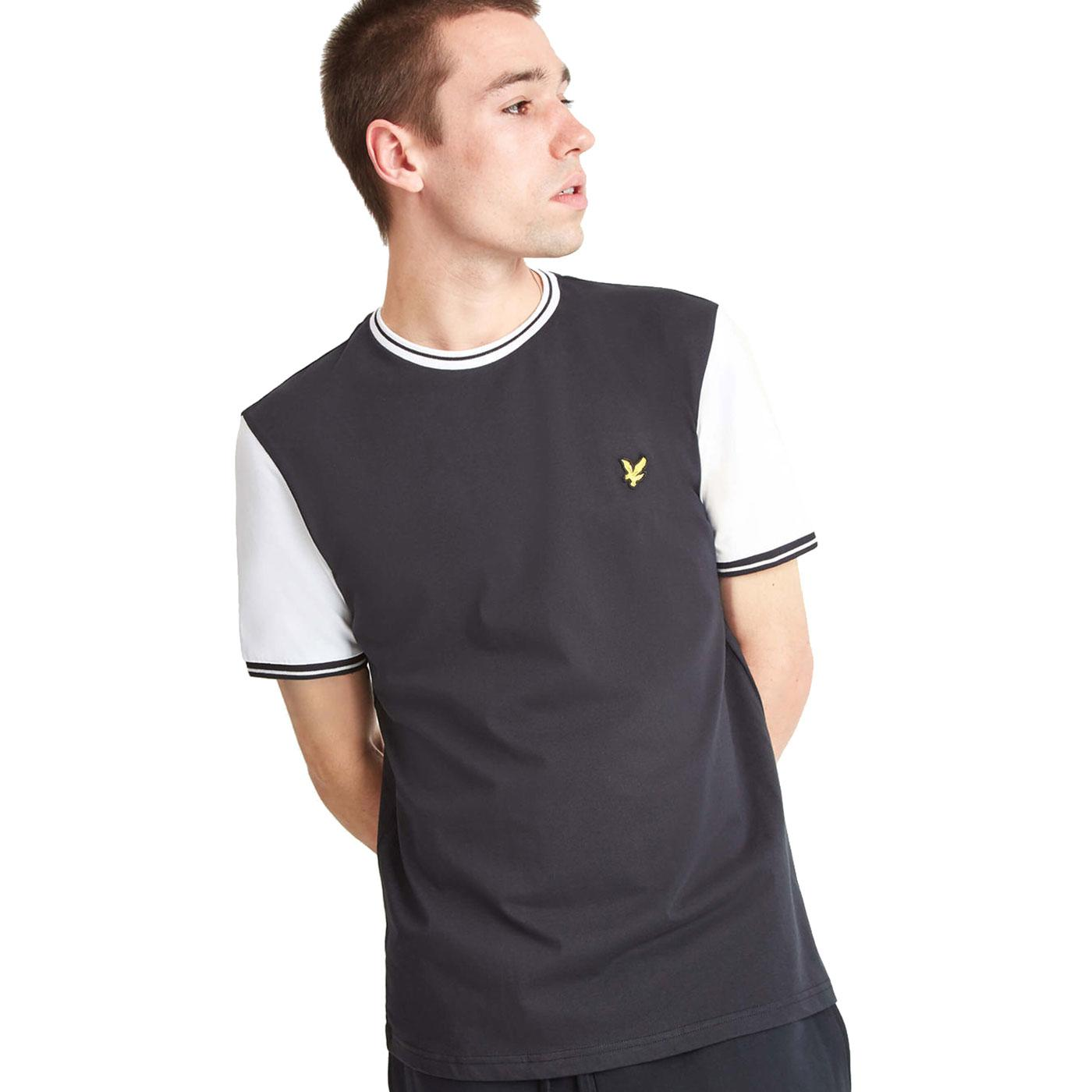 LYLE & SCOTT Mod Contrast Sleeve Tipped Tee