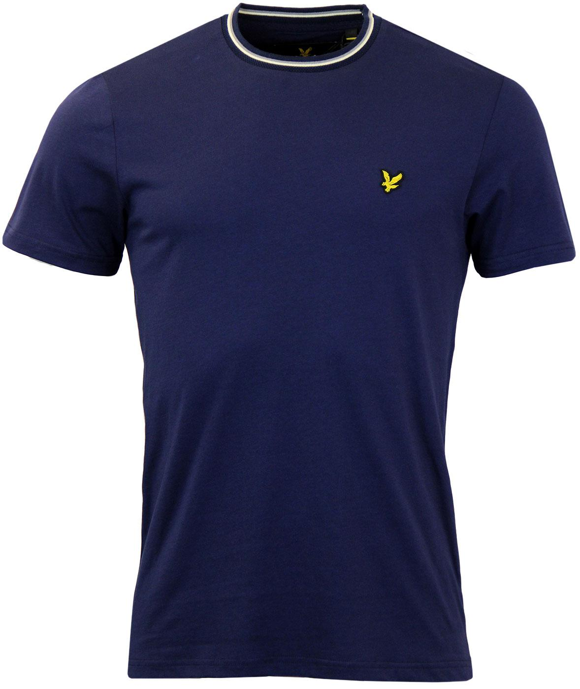LYLE & SCOTT Retro Heritage Archive Trim T-Shirt