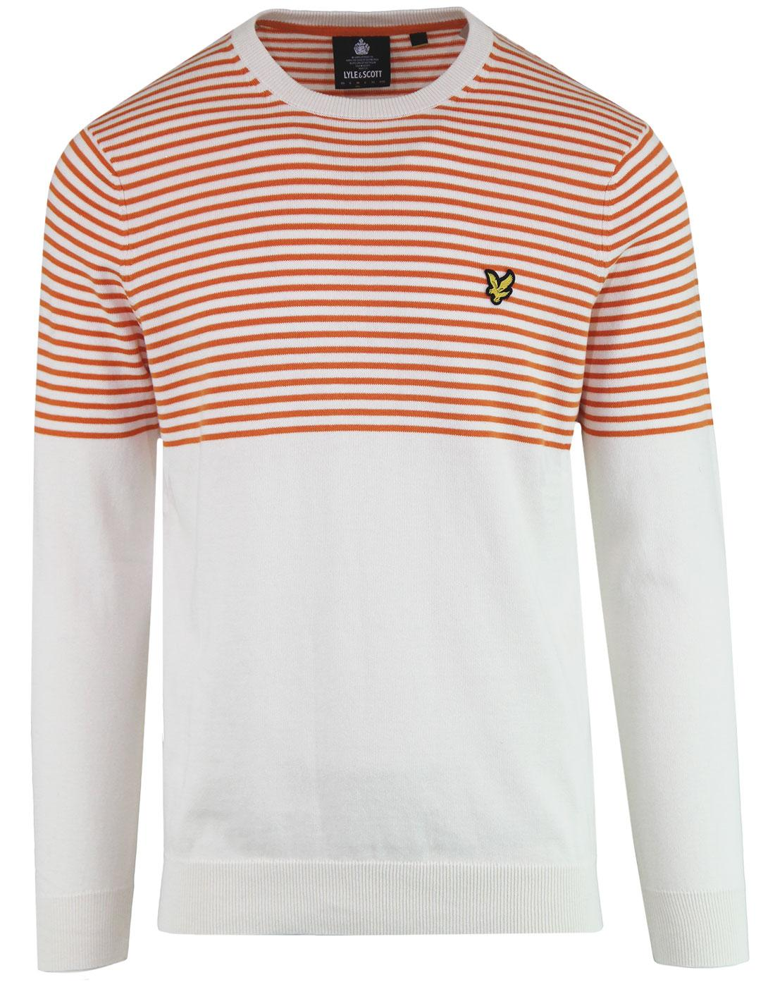 LYLE & SCOTT Retro Mod Breton Stripe Jumper (SW)