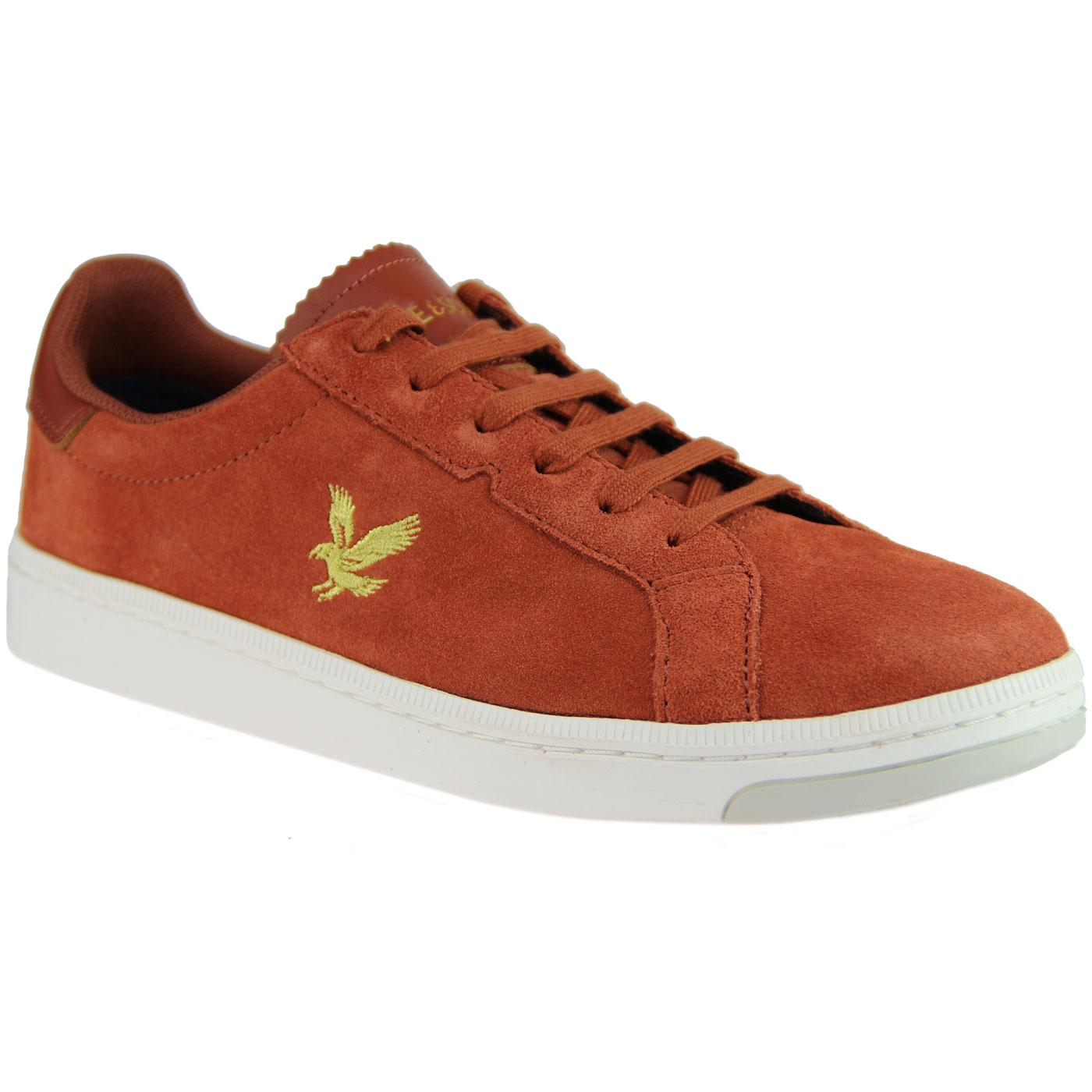 Burchill LYLE & SCOTT Retro Mod Suede Trainers BS