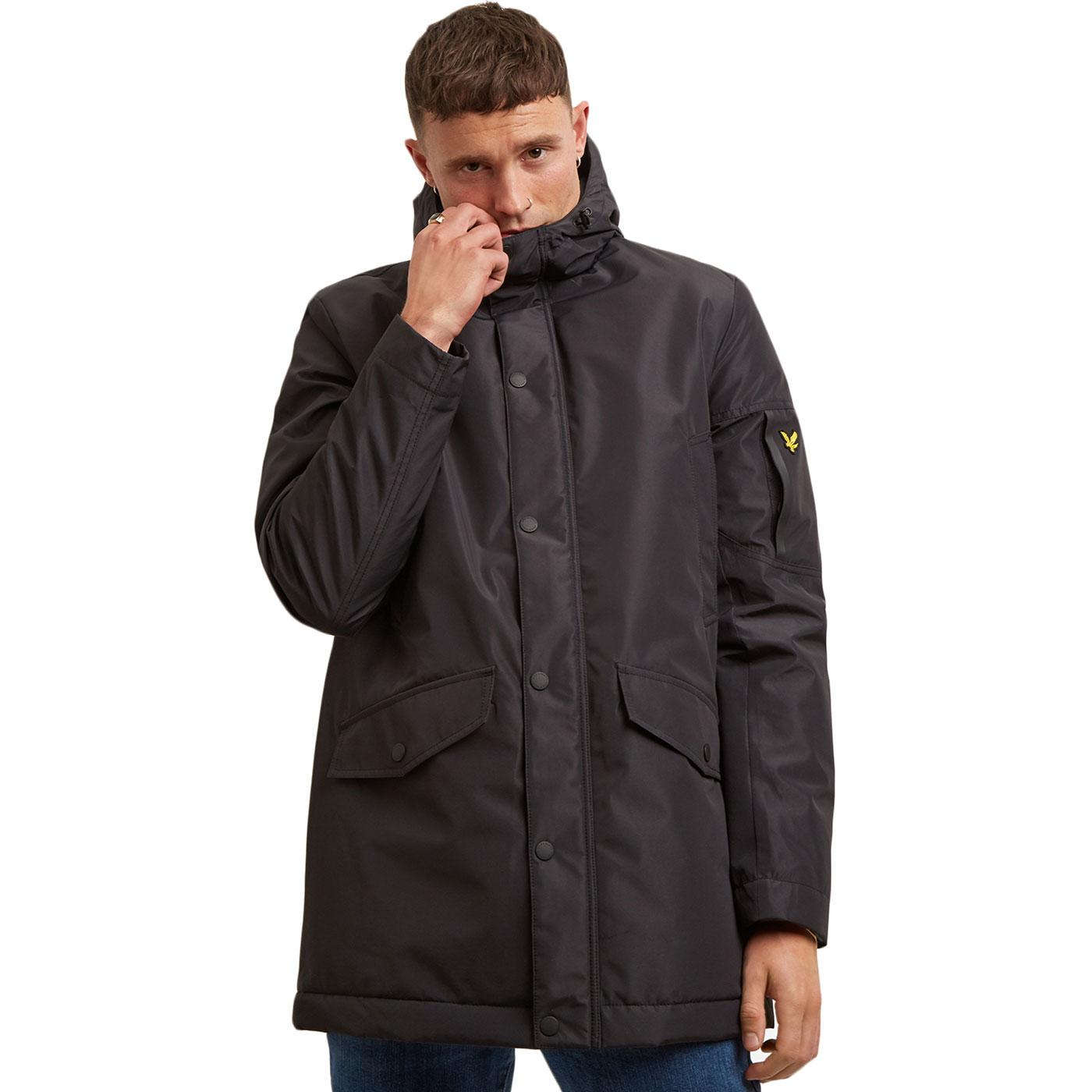 LYLE & SCOTT Casuals Technical Parka (True Black)