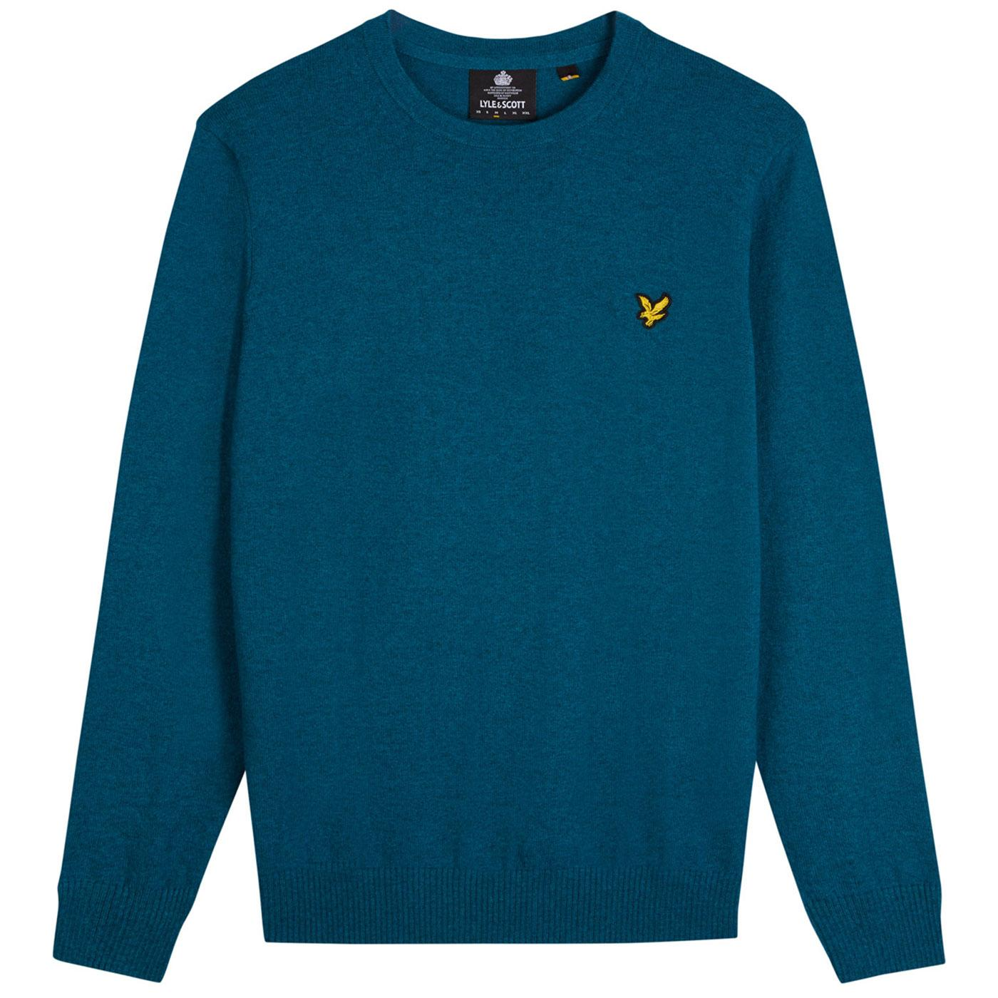 LYLE AND SCOTT Retro Merino Wool Knitted Jumper PT