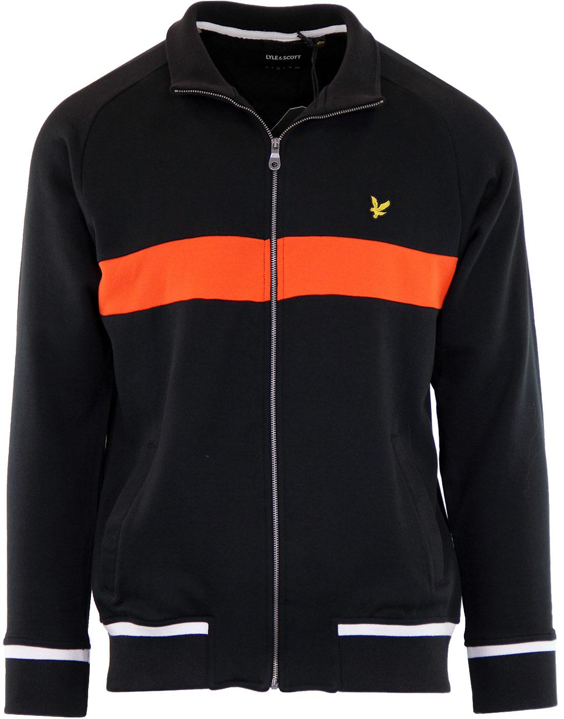 LYLE & SCOTT Retro 80's Chest Panel Track Jacket B