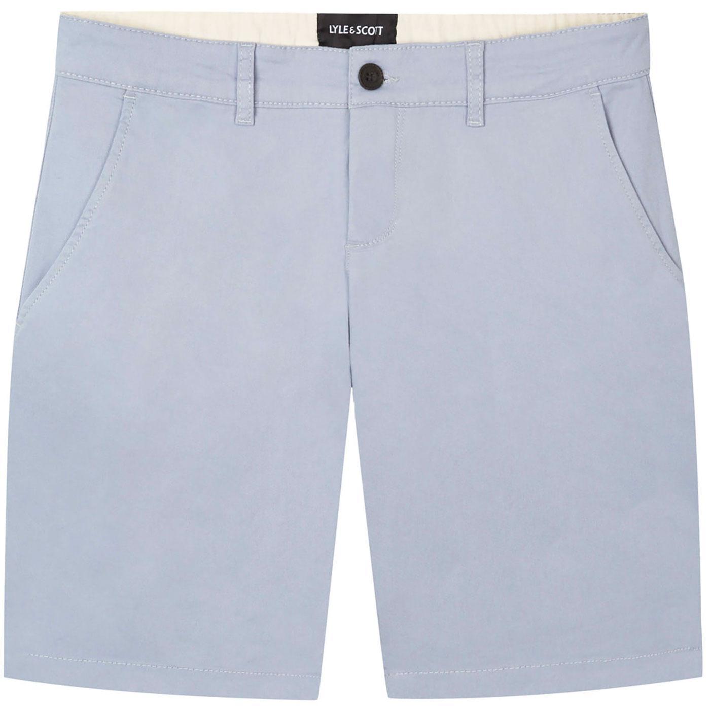 LYLE & SCOTT Men's Retro Chino Shorts (Cloud Blue)