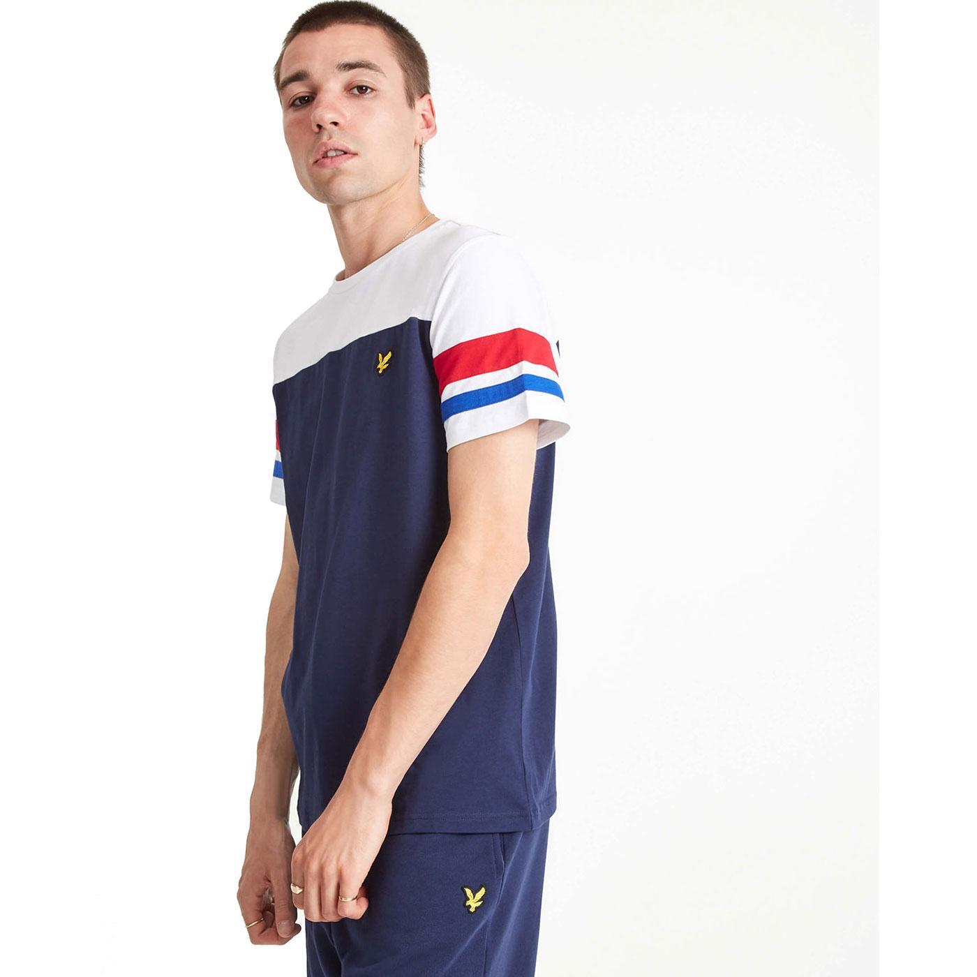 LYLE & SCOTT Men's Contrast Sleeve Band T-Shirt N