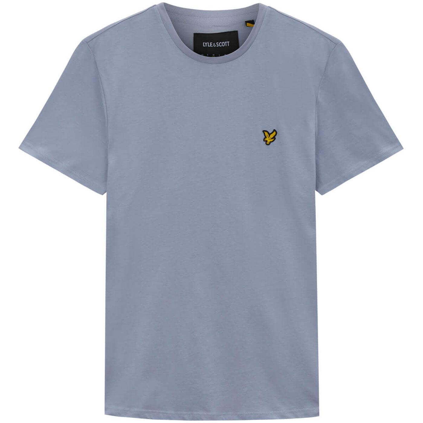 LYLE & SCOTT Men's Retro Crew Neck Tee CLOUD BLUE