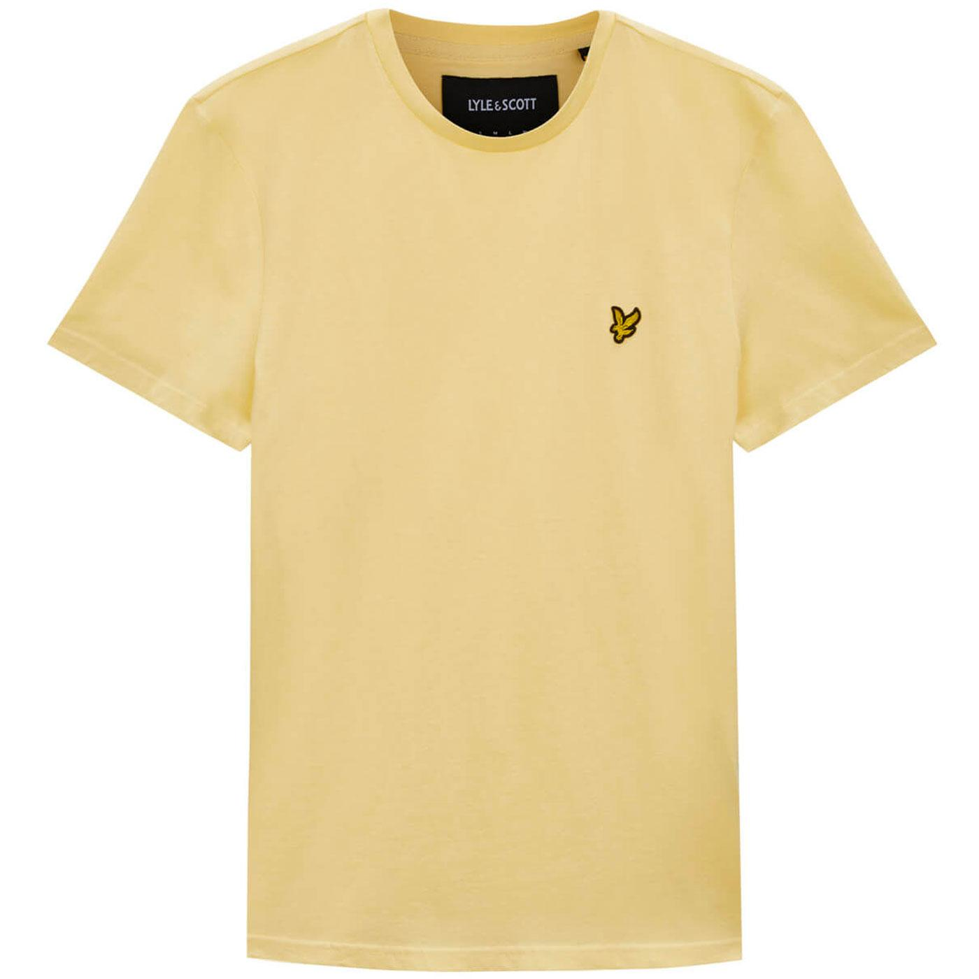 LYLE & SCOTT Men's Retro Crew Tee (Vanilla Cream)