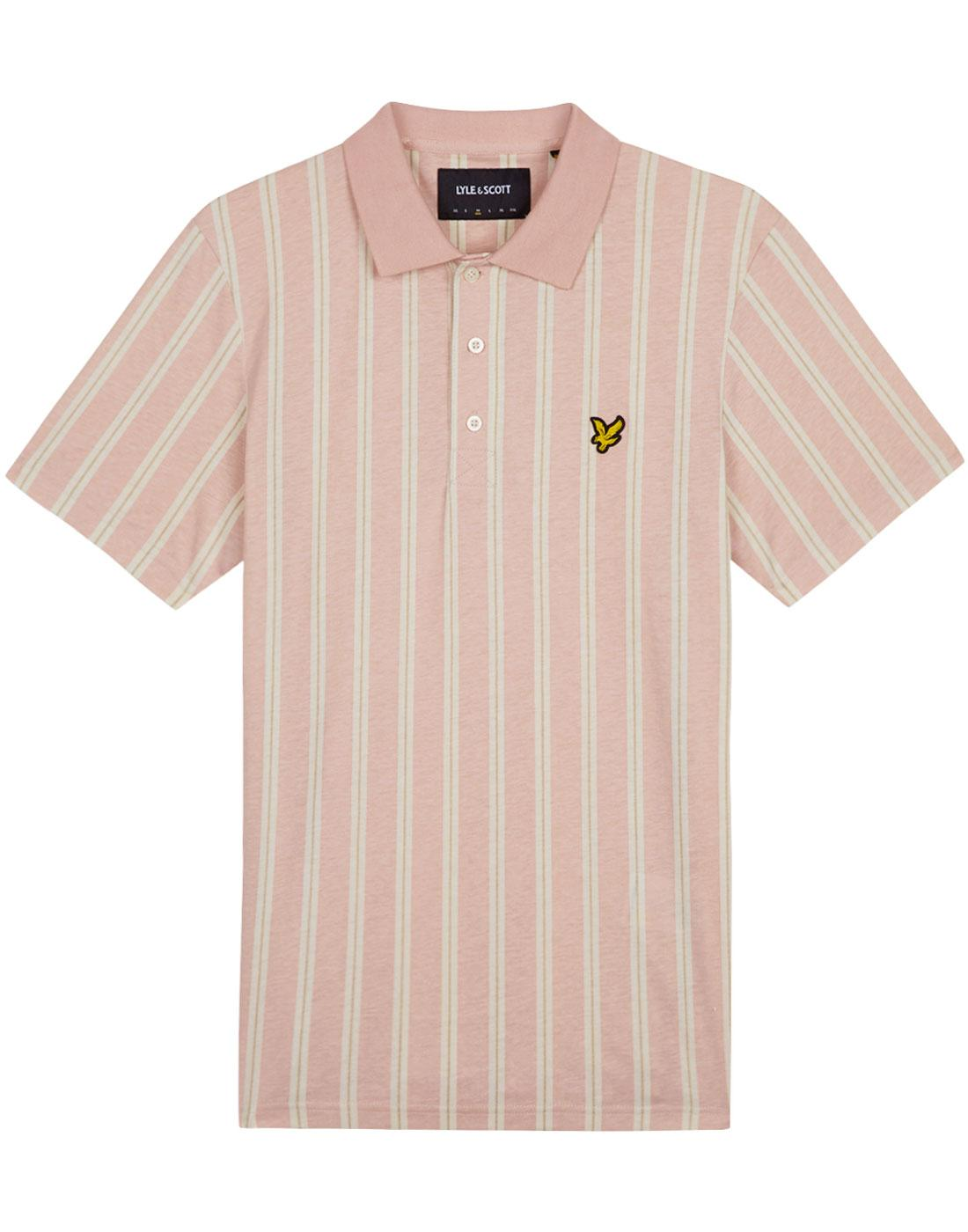 LYLE & SCOTT Mod Deckchair Stripe Polo Shirt (DP)