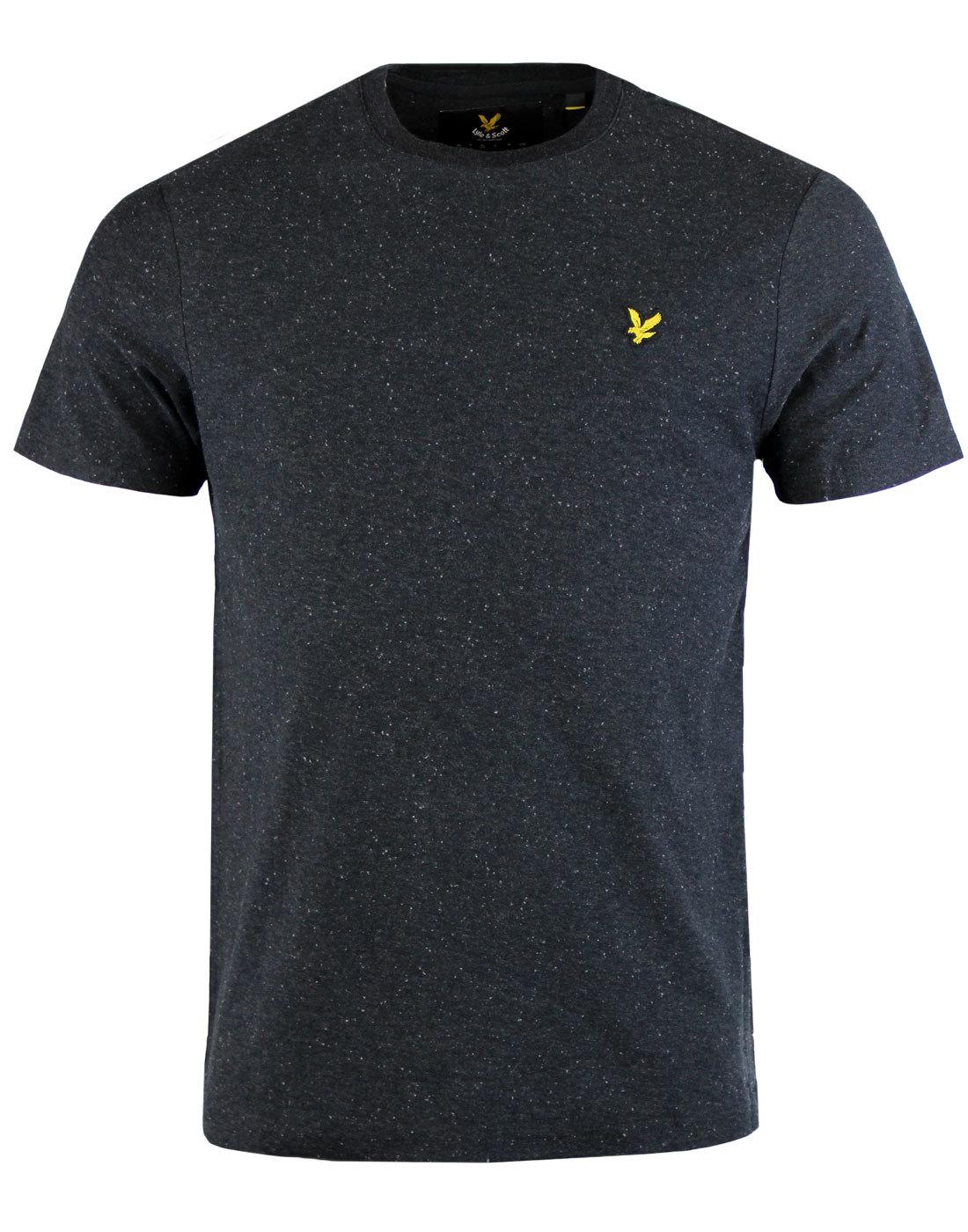 LYLE & SCOTT Retro Brushed Flecked Crew T-shirt