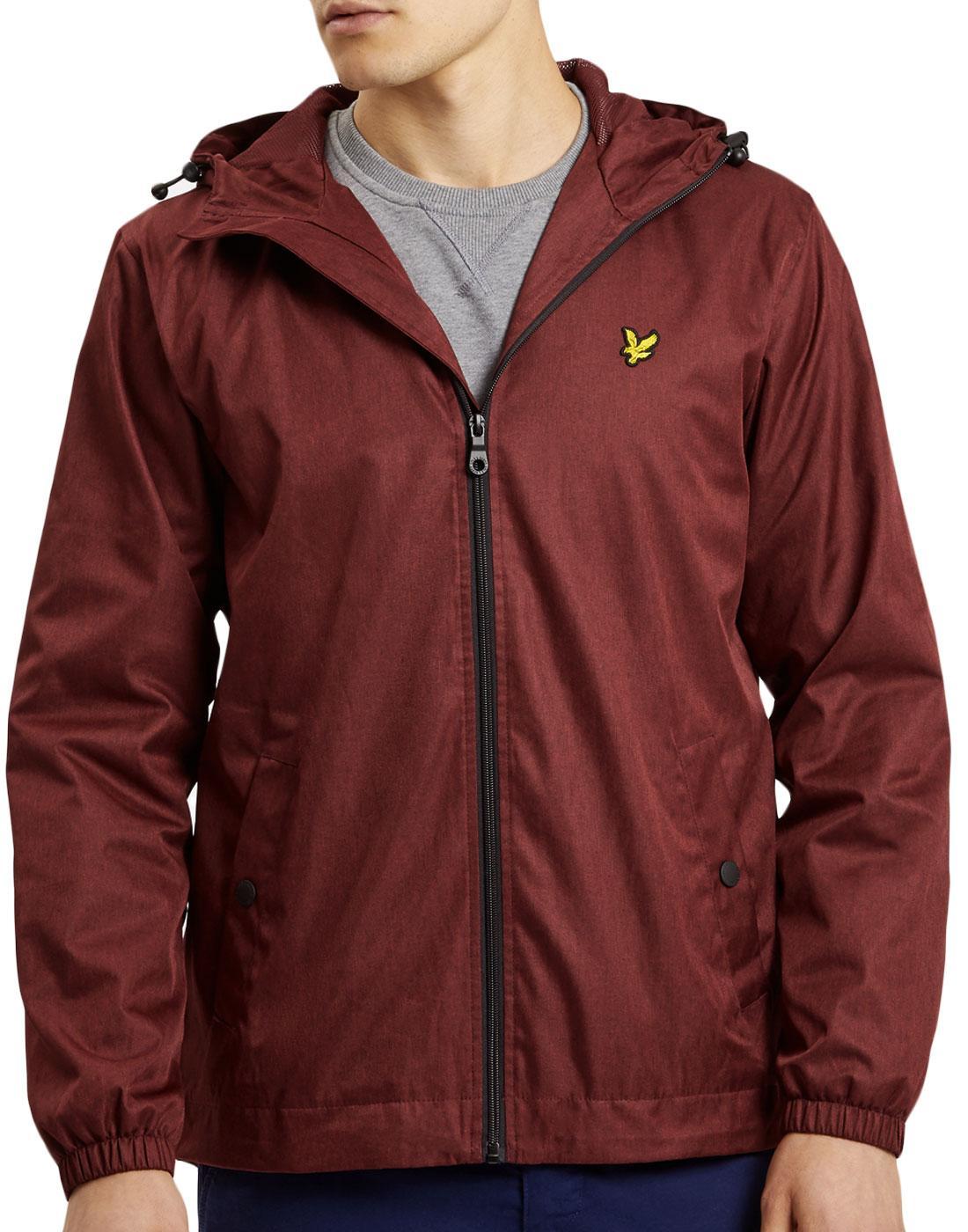 LYLE & SCOTT Retro Tonic Effect Hooded Jacket (C)