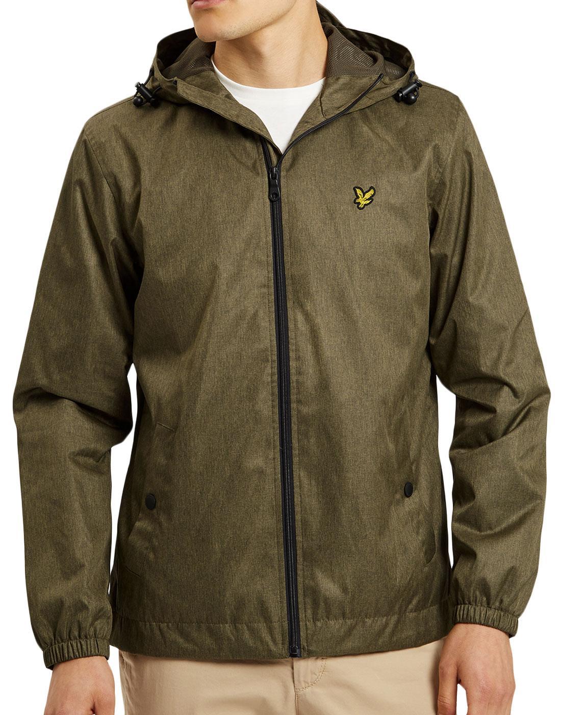 LYLE & SCOTT Mod Tonic Effect Hooded Jacket (OM)