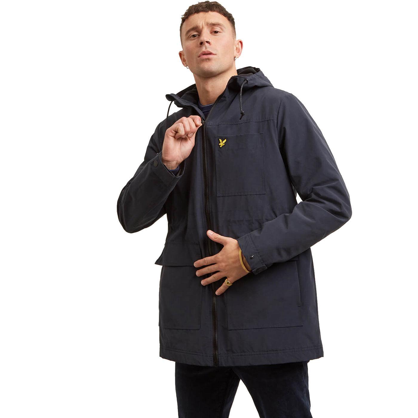 LYLE & SCOTT Mod Microfleece Lined Hooded Jacket N