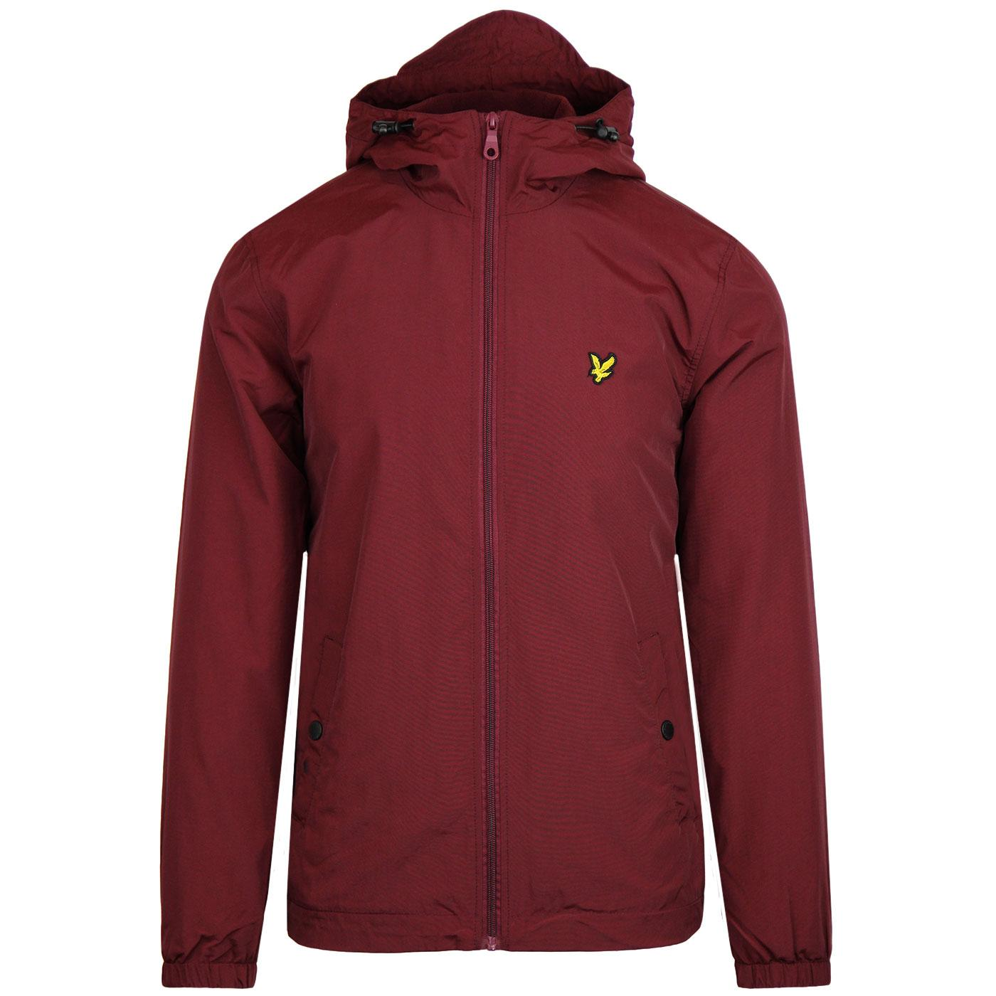 LYLE & SCOTT Retro Microfleece Jacket (Claret Jug)