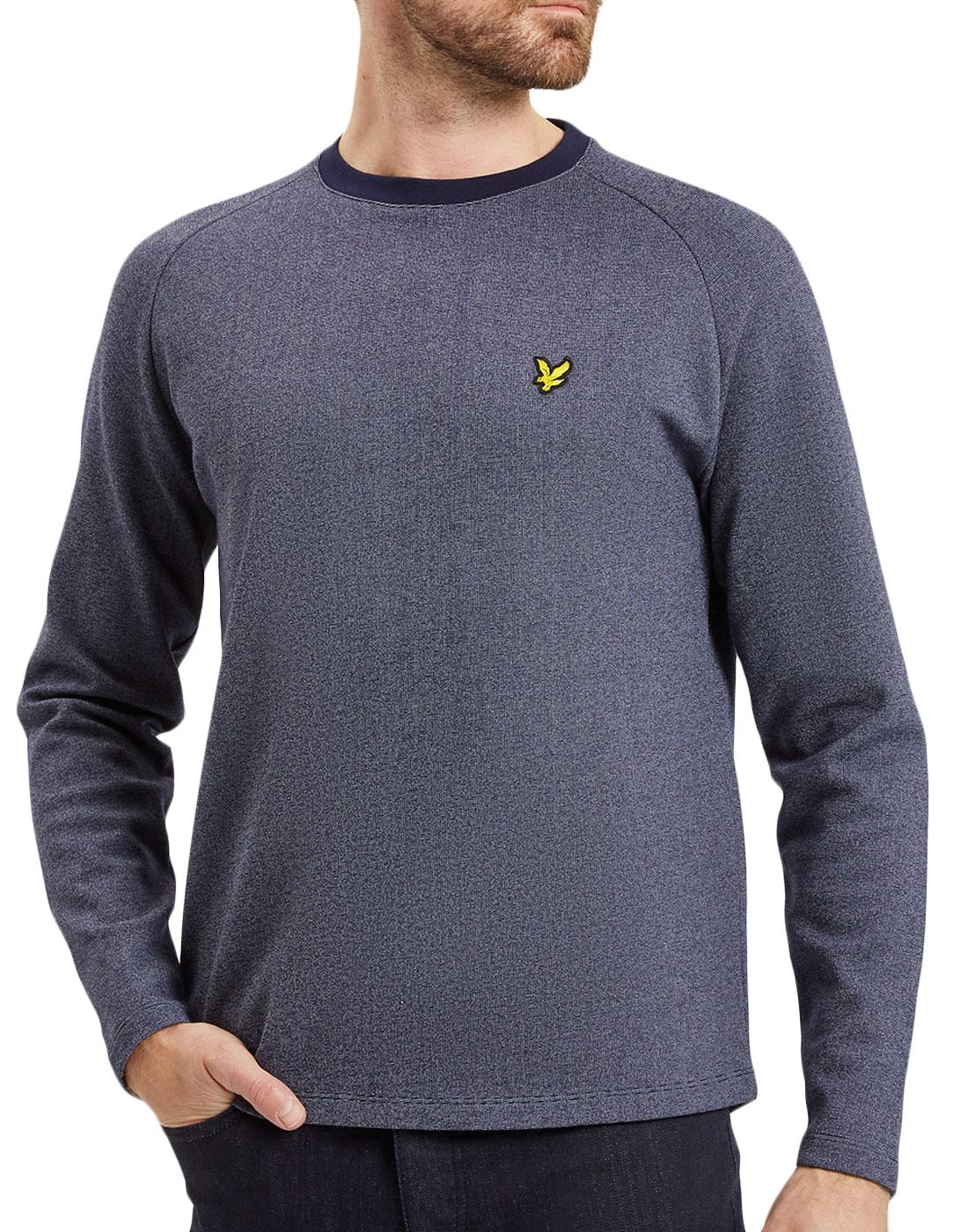LYLE & SCOTT Mens Ponte De Roma Mouline Sweatshirt