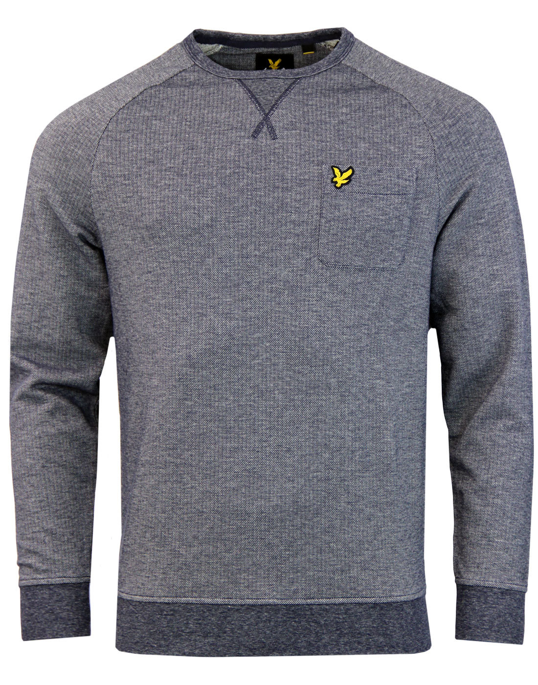 LYLE & SCOTT Retro 1970s Oxford Stripe Sweatshirt