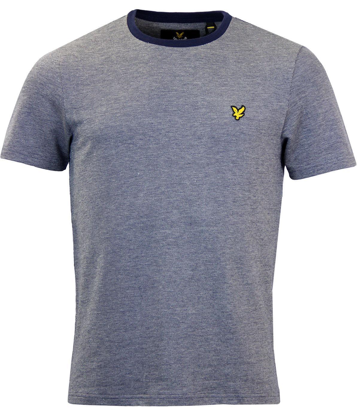 LYLE & SCOTT Retro Mod Pique Space Dye T-Shirt
