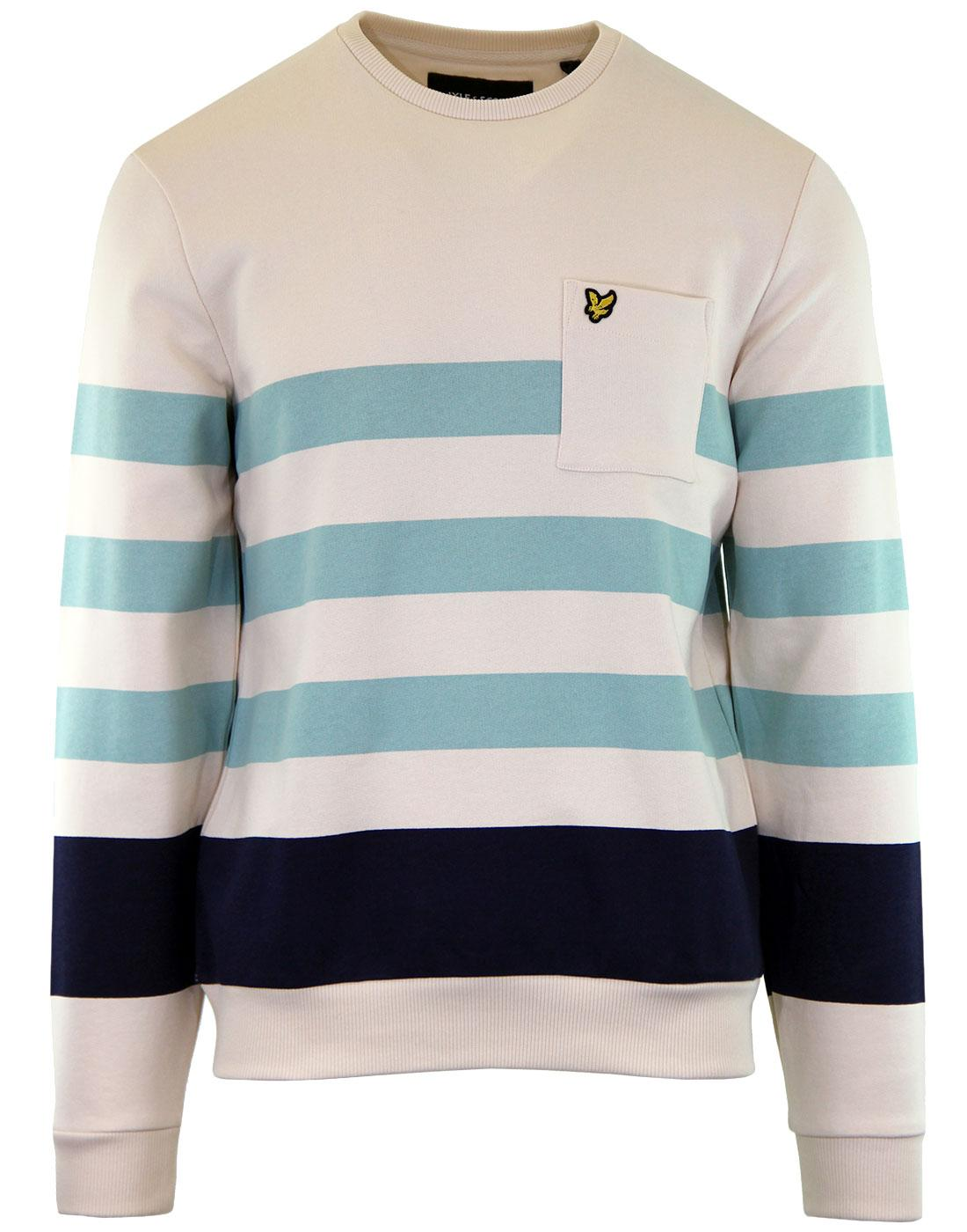 LYLE & SCOTT Men's Retro Indie Stripe Sweatshirt S