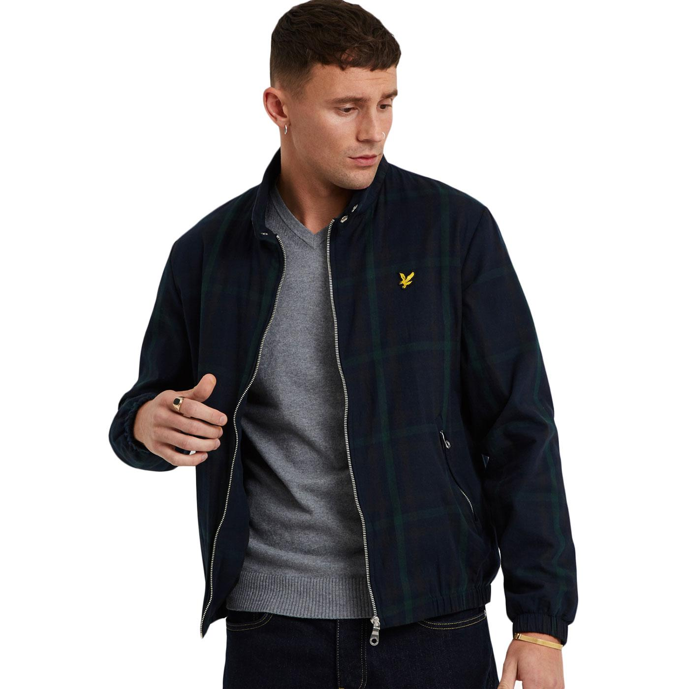 LYLE & SCOTT Tartan Check Mod Harrington Jacket