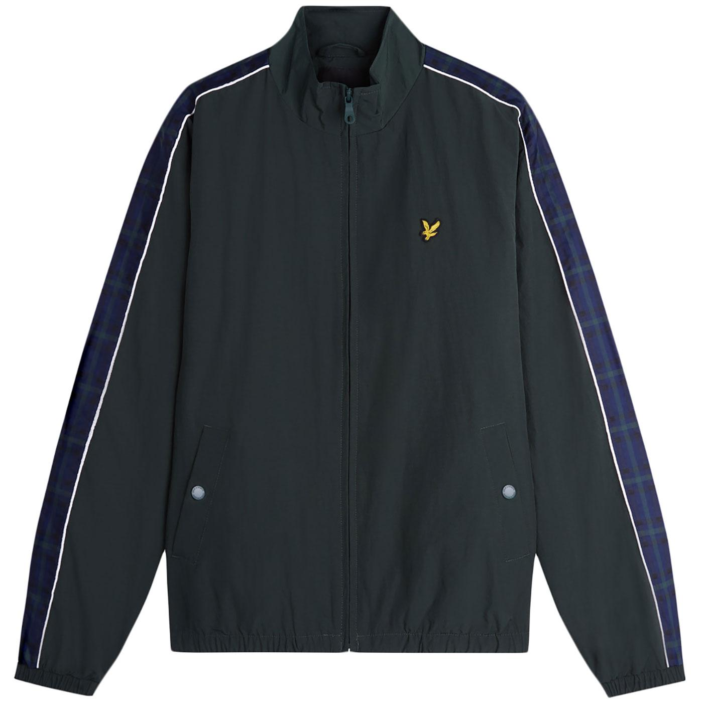 LYLE & SCOTT Retro Taped Sleeve Funnel Neck Jacket