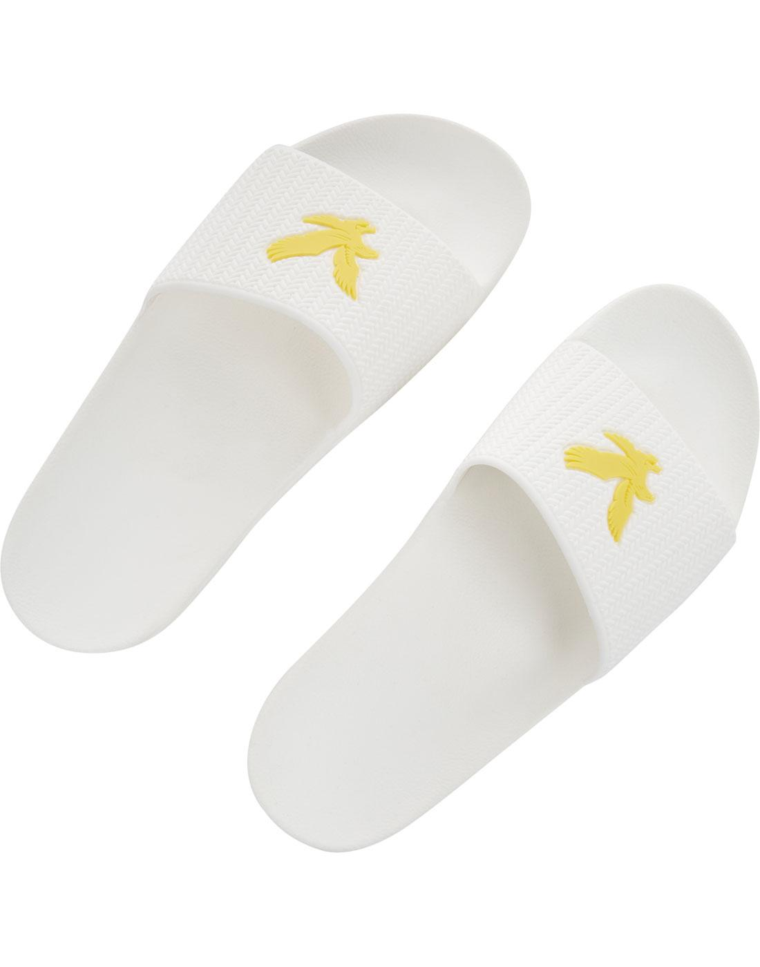 3ffa7126895c LYLE   SCOTT Thompson Men s Retro 70s Flip Flops in White