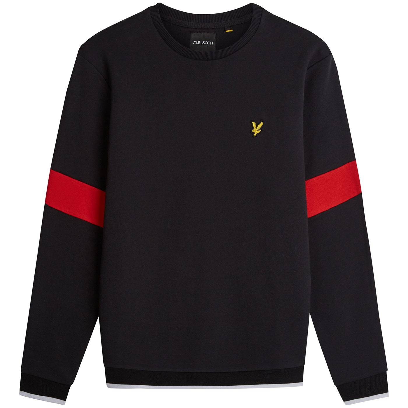 LYLE & SCOTT Indie Tipped Crew Neck Sweatshirt TB