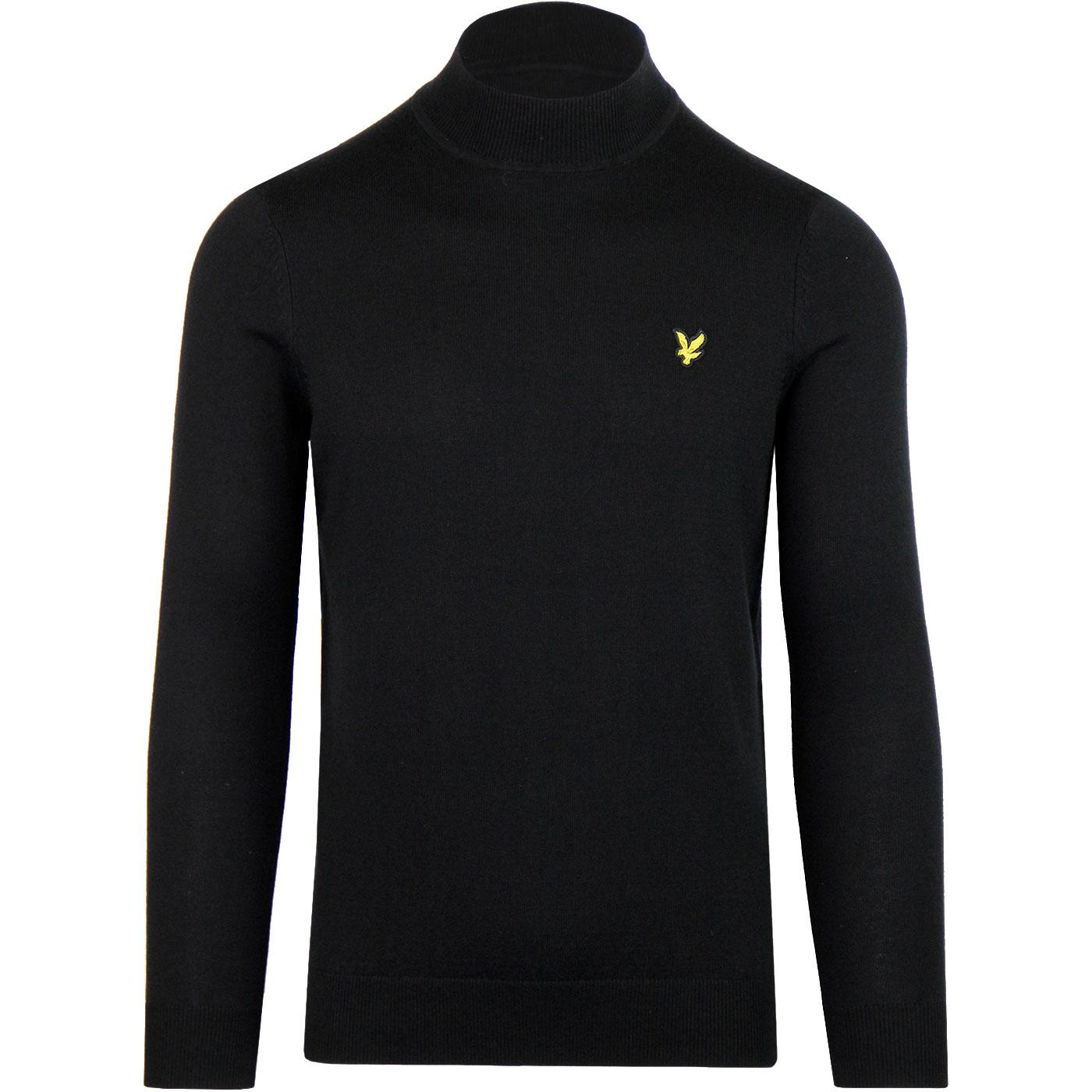 LYLE & SCOTT Men's Retro Knit Turtle Neck Jumper