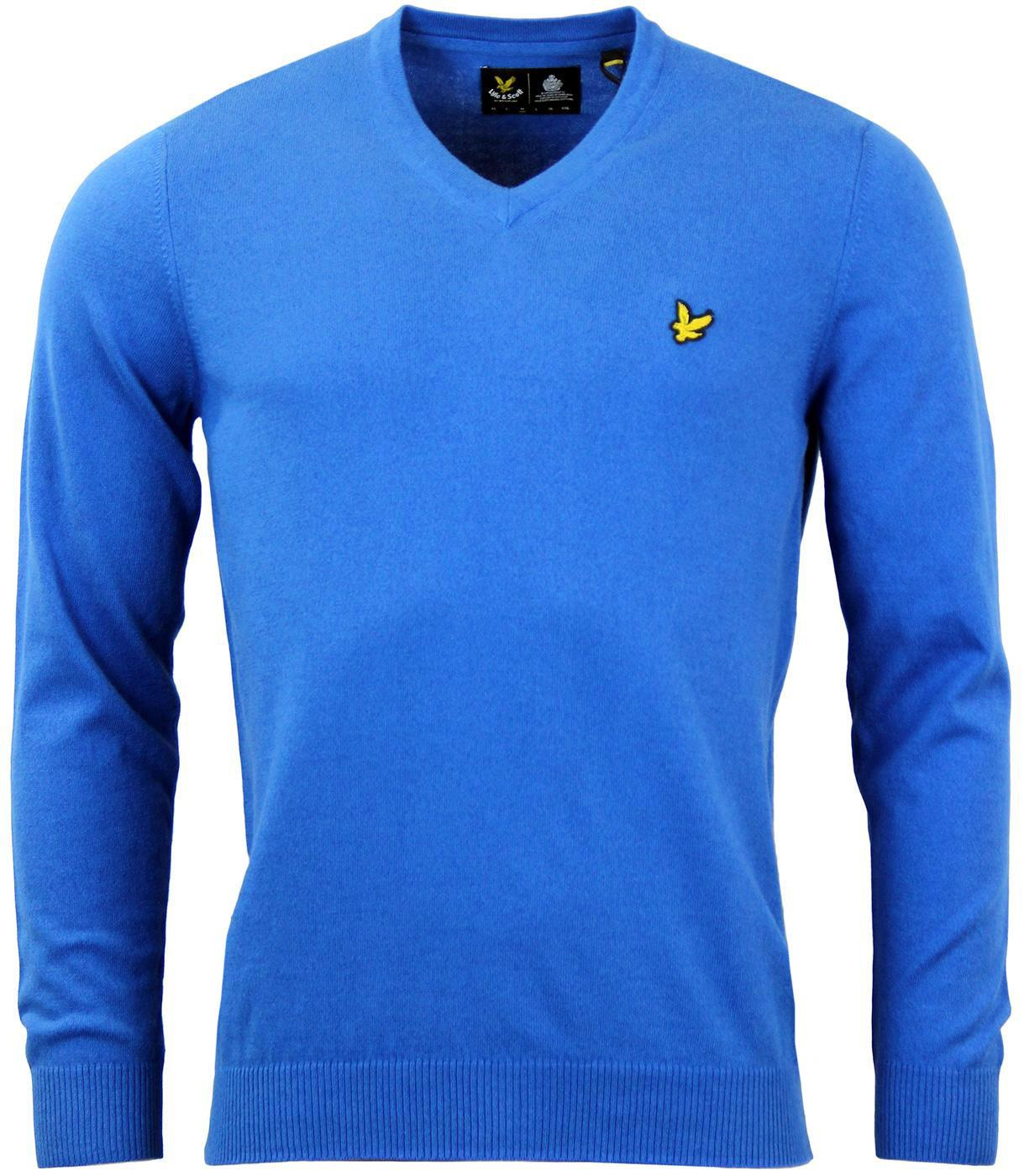LYLE & SCOTT Retro Mod Merino V-Neck Knit Jumper