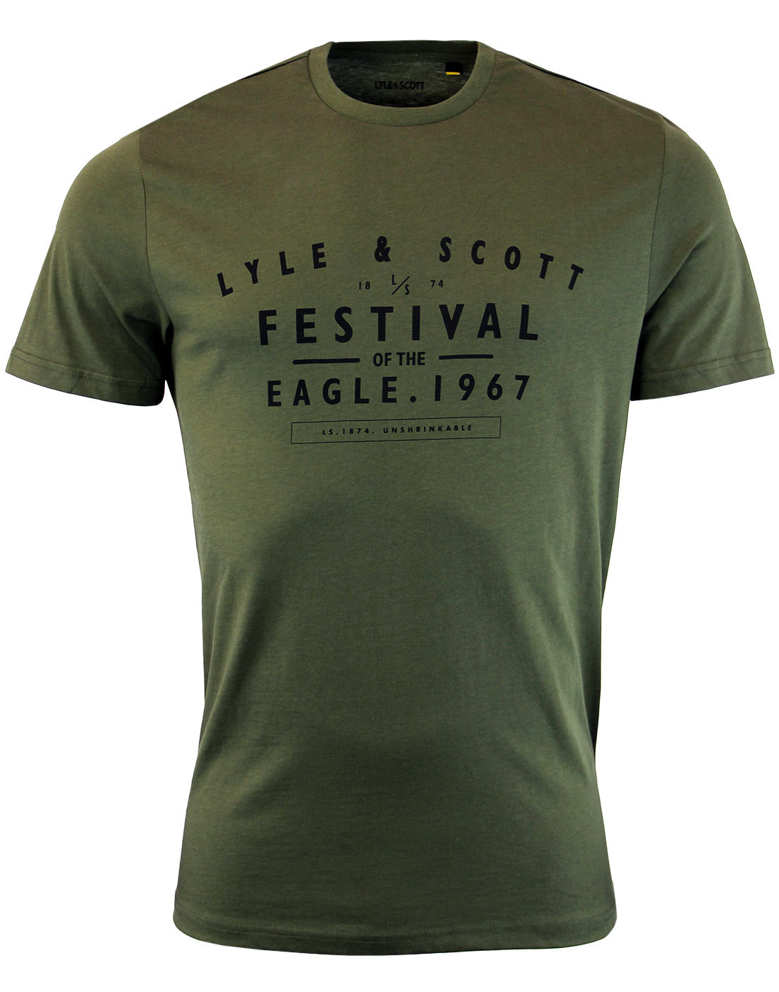 LYLE & SCOTT Retro Indie Festival Graphic Tee O
