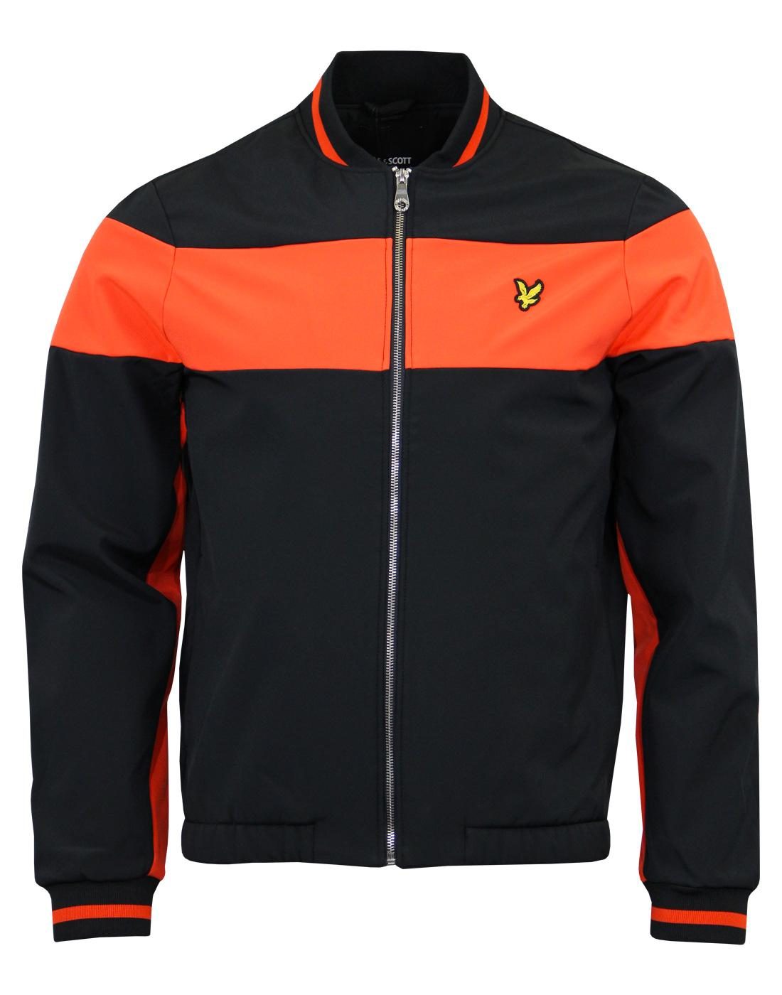 LYLE & SCOTT Softshell Colour Block Bomber Jacket