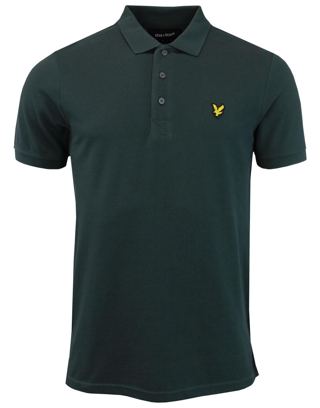 LYLE & SCOTT Classic Mod Pique Polo Shirt (Forest)