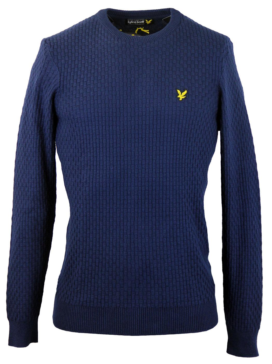 LYLE & SCOTT Basket Weave Interest Crew Jumper